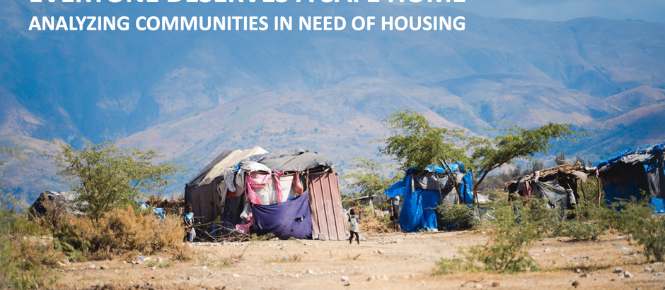 Analyzing Communities In Need Of Housing