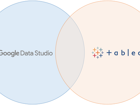 Tableau vs Google Data Studio