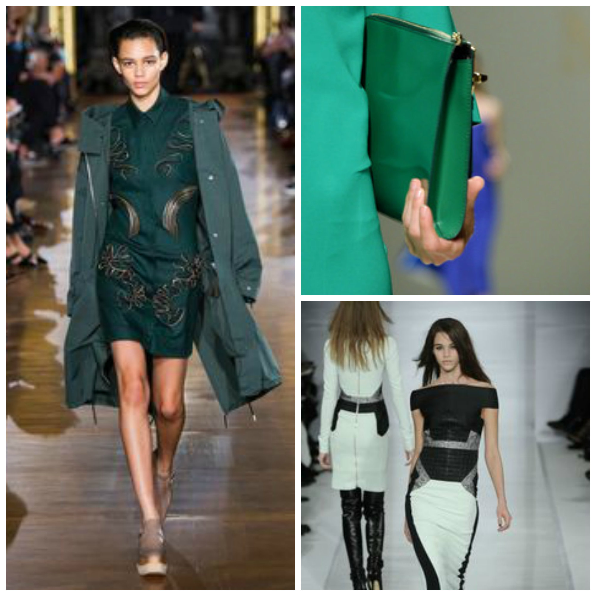 Colour Matching - Greens