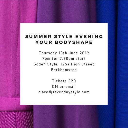 Summer Style Evening 2019