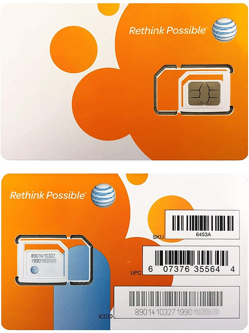AT&T BYOD (Bring Your Own Device) ($125 A Month)