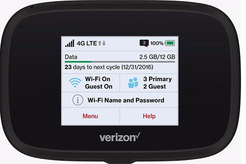 Verizon Jetpack 7730L Hotspot with Serivce ($135 A Month)