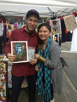 Art Market in Downtown Eastside