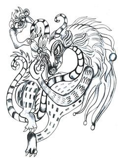 Dragon & Imp