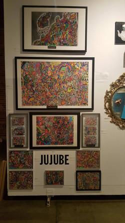 My Art Display at VOAF - Yaletown