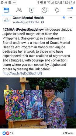 Coast Mental Health Instagram Post