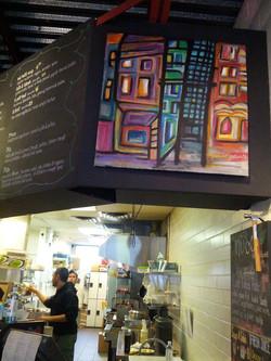 Art Installed at Nuba on Seymour