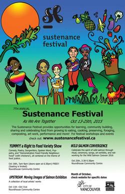 Sustenance Festival Poster - Jujube