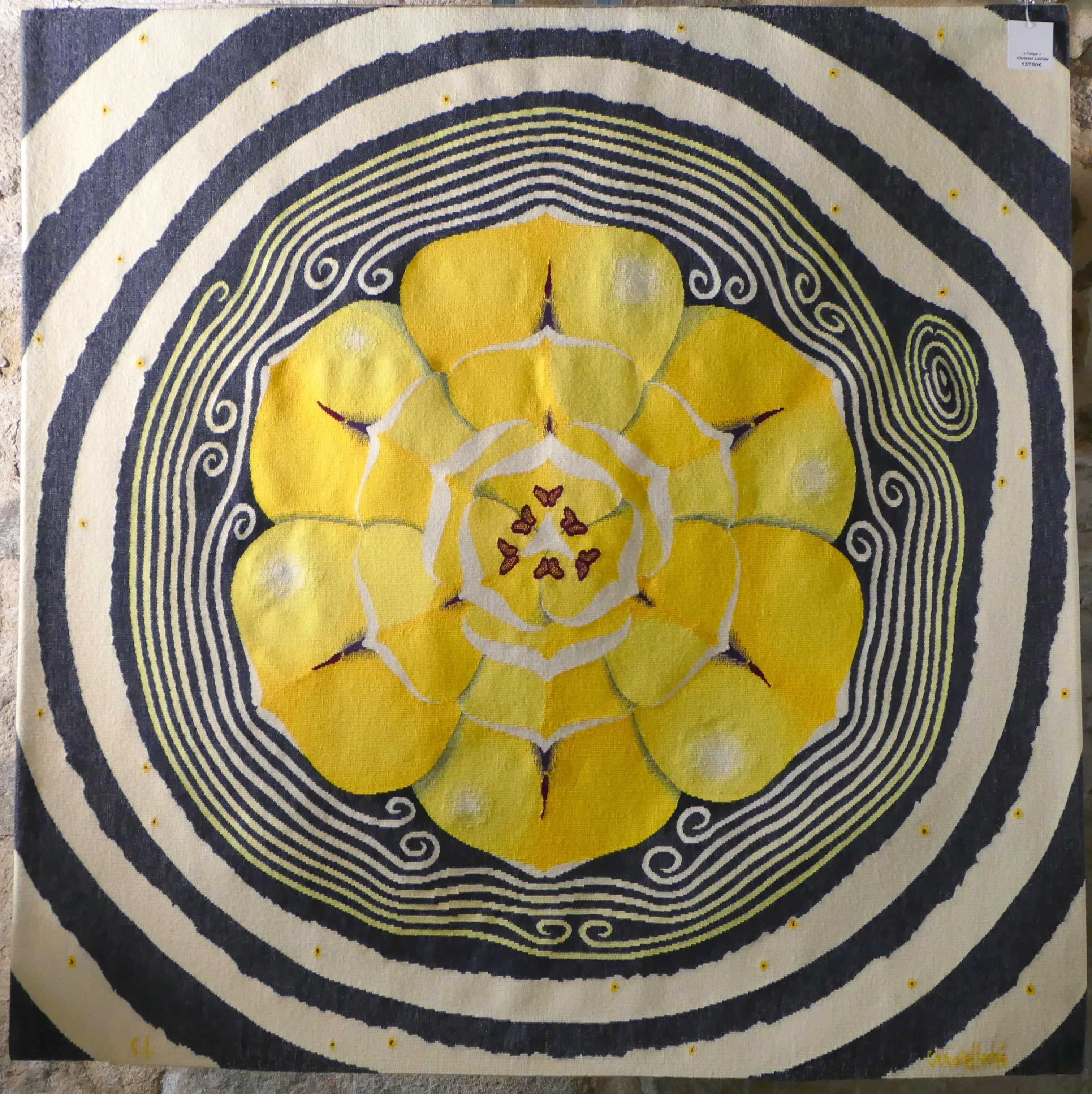 Christel Laché, tapisserie d'art.