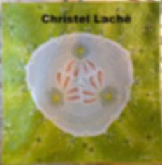"""Tapisserie """"concombre"""" Christel Laché"""