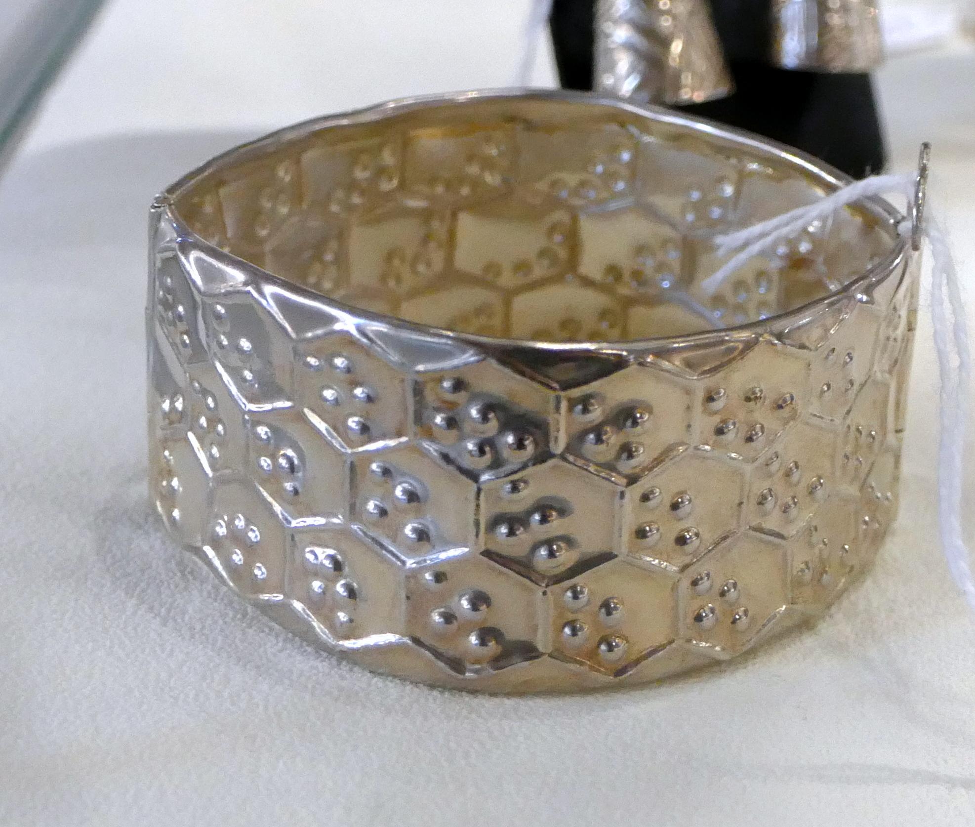Lucienne Adolf, bijoux en argent.