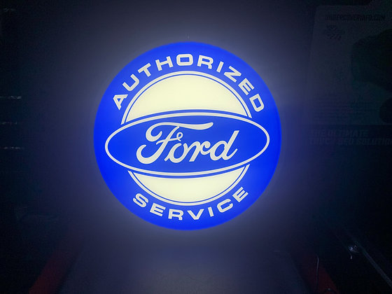 Ford Lit Sign