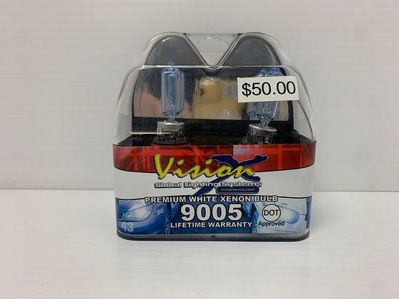 Vision Premium White Xenon Bulb 9005