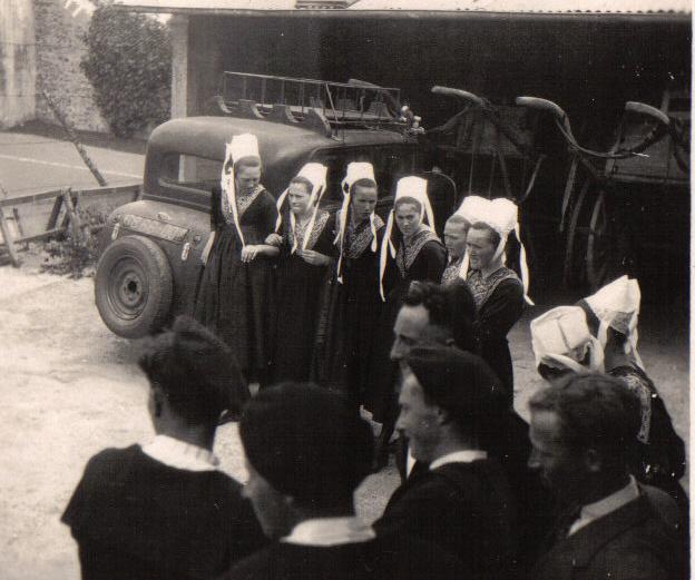 Bleuniou Sivi 1946 nvelles recrues douar bihan