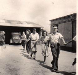 Bleuniou Sivi 1946 premiers pas 2
