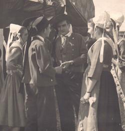 Bleuniou Sivi 1946 discussion guilvinec46