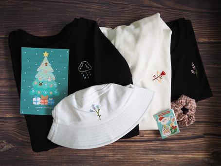 Behind: Make-A-Wish Singapore Christmas Collaboration