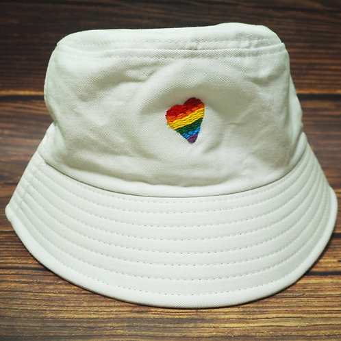 Rainbow Love (White)