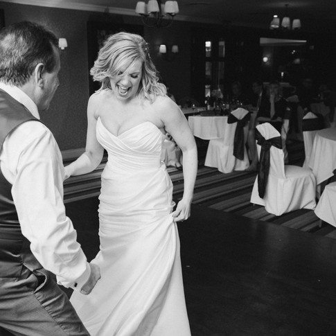 Unique wedding photography in Pendrell Hall country house wedding venue
