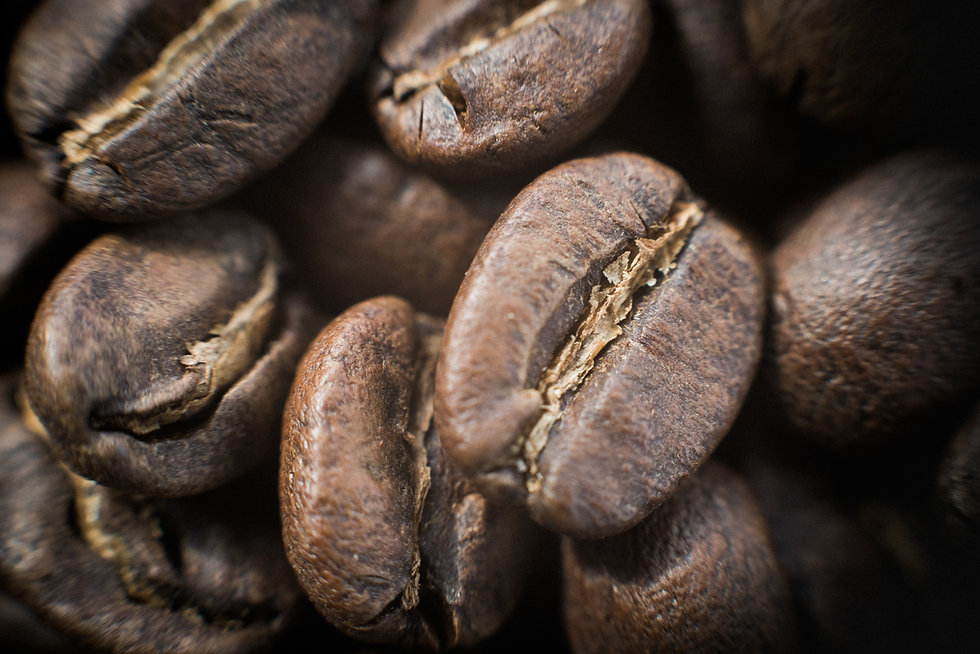 """Coffee beans. Macro photography of Two Chimps coffee beans from the blog """"Wedding planning and a coffee connoisseur? This is for you."""". Darley and Underwood Wedding photography, Oakham, Rutland, Melton Mowbray, Leciestershire and across the UK."""