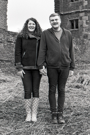 Fun engagment photographs shot in Black and White and Colour both digitally and on film