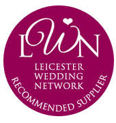 Leicester Wedding Network logo. Recommended wedding photography supplier for Leicester