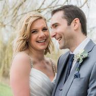 Countryside Nottinghamshire wedding photographer. Natural wedding portrait at the Nottinghamshire Golf Club