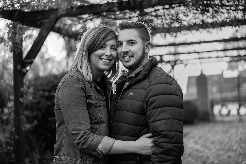 Leicestershire countryside couple portrait photography