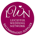 Leicester Wedding Network Badge. Darley and Underwood photographers are proud members on LWN, providing photography services for weddings across the East Midlands, UK.