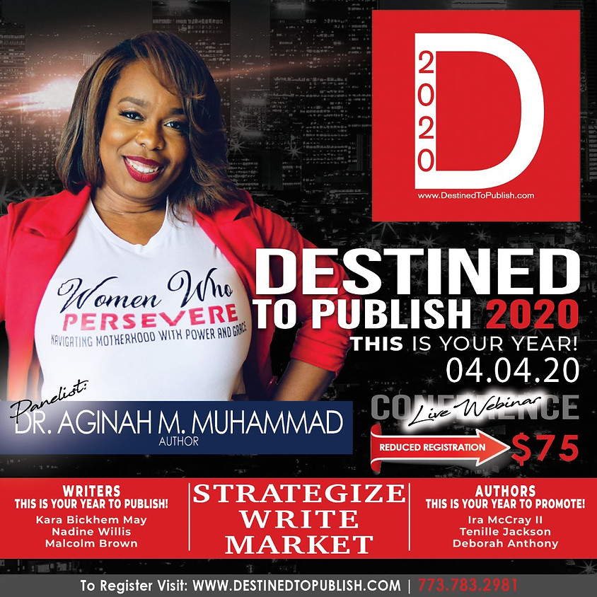 Destined To Publish Authors Conference 2020