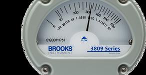 Brooks MT3809 VA Flow Meter / Widest temperature, pressure and process range. One proven flow meter.
