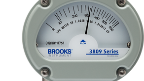 Brooks MT3809 VA Flow Meter / Widest temperature, pressure and process range. One proven flow meter.