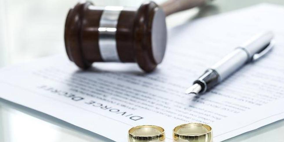 "Oficina: ""Como construir um Plano de Acordo para seu Divórcio"""