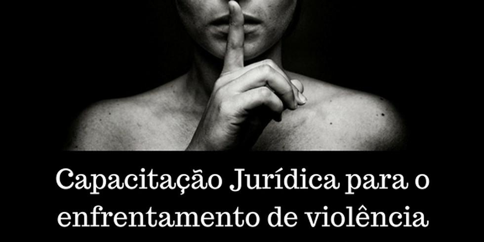 Capacitação Jurídica para o enfrentamento de violência doméstica e familiar