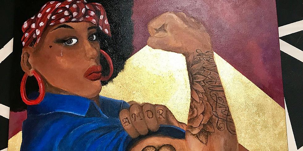 Mulheres Negras - (Re)existência - Grupo de Apoio