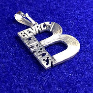 Initial name necklace with your names hand crafted in your initial by hand.
