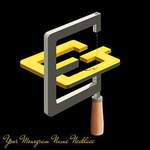your monogram necklace logo