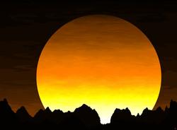 sunset_art_paint_color_print