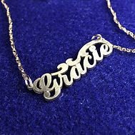 Personalized Name necklace.