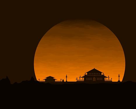 Sunset art 5