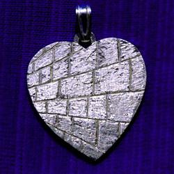 Wailing wall heart
