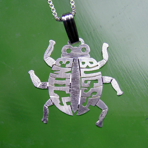 LDB 1 Lady bug name necklace