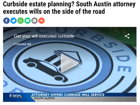 Curbside Attorney in the news!