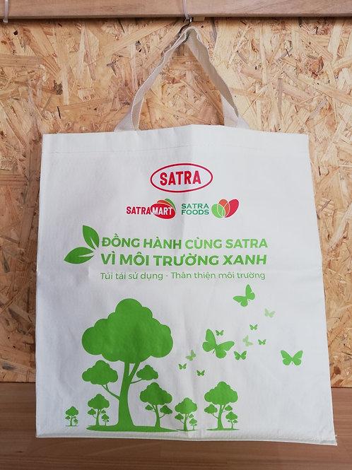 ベトナム SATRA MARTのエコバック白