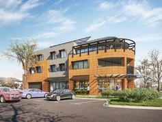 2020 - Proposed design: streetscape in Merton St