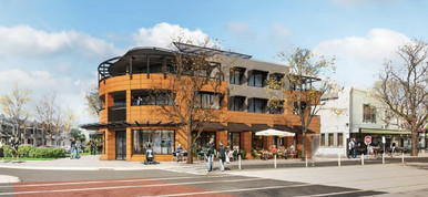 2020 - Proposed design: streetscape near Foodworks