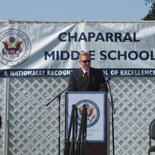 CHAPARRAL MIDDLE SCHOOL