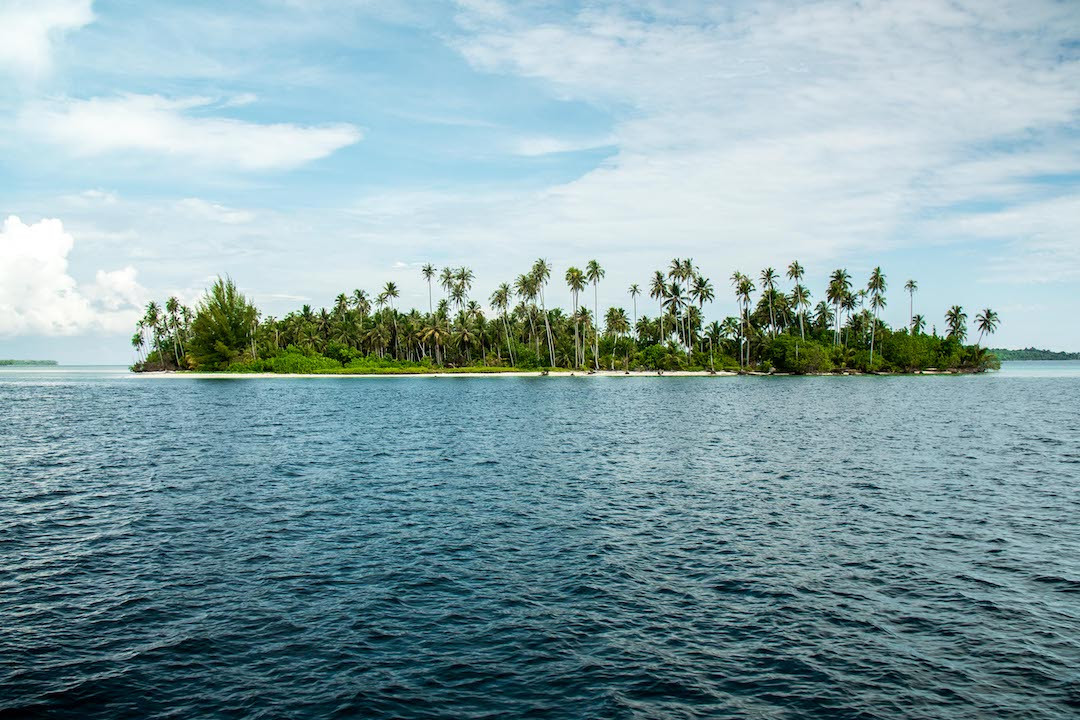 Beautiful islands of Sumatra