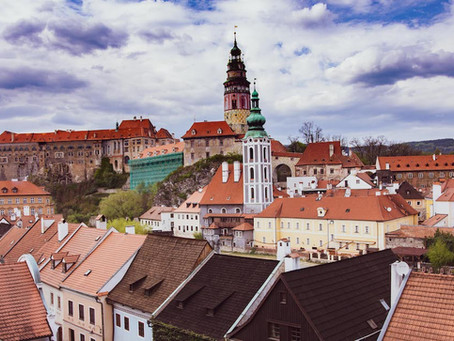 The city of Cesky Krumlov