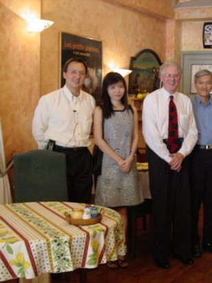 Ed Durgin - Ho Chi Minh City with US Emb